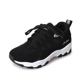 Zwart Comfortabel sneakers Kant