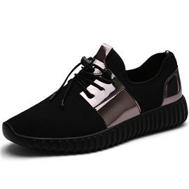 Zwart Sporten Kant Heren sneakers