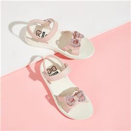 Strass platte sandalen met strassband voor meisjes