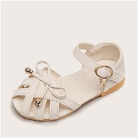 Meisjes Bow Decor uitgehold sandalen