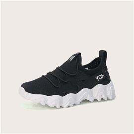 Sneakers met veters aan de voorkant, voor meisjes, grafisch