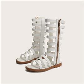 Gladiator sandalen met rits voor meisjes