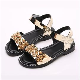 Meisjes Faux Pearl Decor sandalen