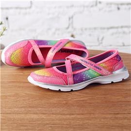 Meisjes gradiënt instapsneakers