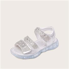 Sandalen met klittenband voor meisjes