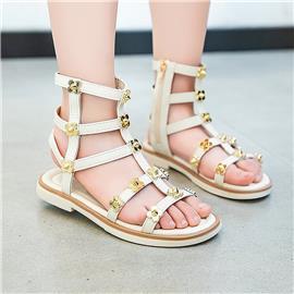 Metal Metal Decor Gladiator sandalen voor meisjes