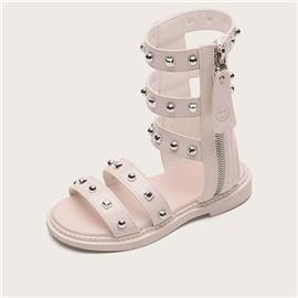 Meisjes Spiked Decor Ladder uitgesneden sandalen