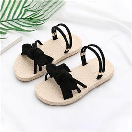 Meisjes Bow Knot Front Two Way Wear Sandalen