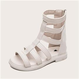 Meisjes open teen gladiator sandalen