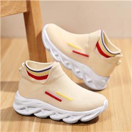 Gestreepte sneakers voor meisjes
