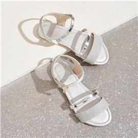 Slingback sandalen met platte band voor meisjes