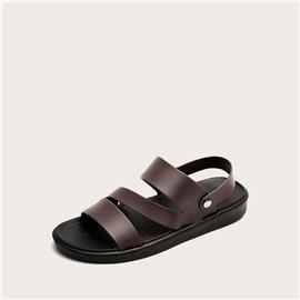 Minimalistische platte sandalen voor heren