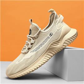 Heren lage sneakers met veters aan de voorkant