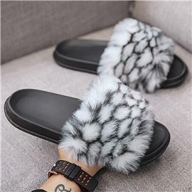 Geometrisch Heren slippers