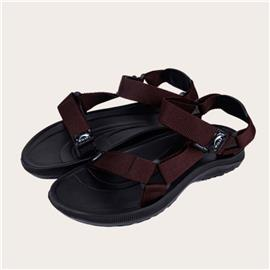 Heren Triangle Linked Velcro Strap Sport Sandals