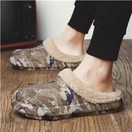 Camouflage Heren slippers