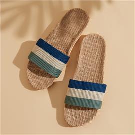 Veel kleurig Gestreept Heren slippers
