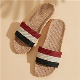 Veel kleurig Kleurblok Heren slippers