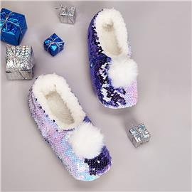 Paars Feest Slippers