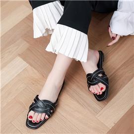 Zwart Comfortabel Slippers