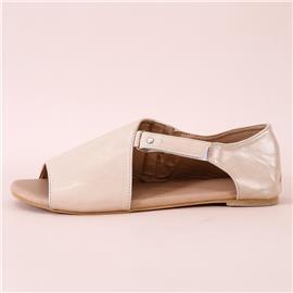 Sandalen met open teen en klittenband