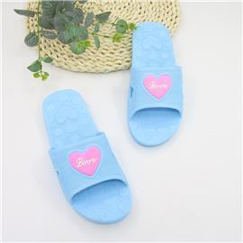 Pantoffels met hartjes en open tenen
