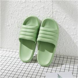 Groen Vlak Slipper