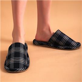 Geruite pantoffels