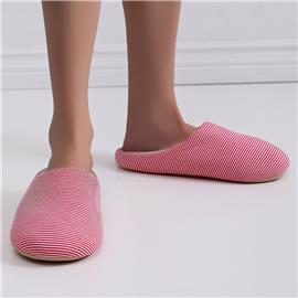 Gestreepte pantoffels