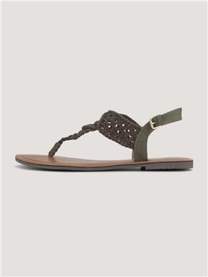 TOM TAILOR Strappy sandalen, black
