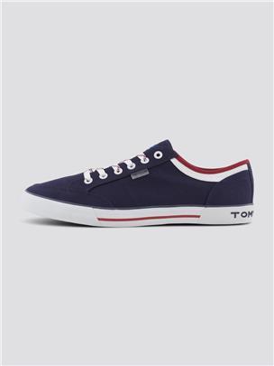 TOM TAILOR Sneakers met kleurdetails, navy