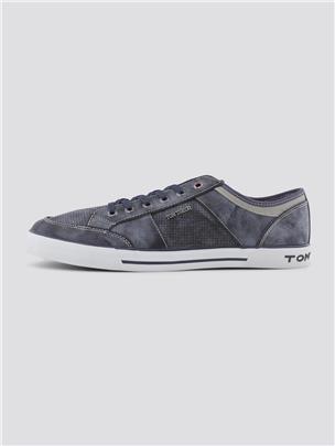 TOM TAILOR Sneakers in een patroonmix, navy