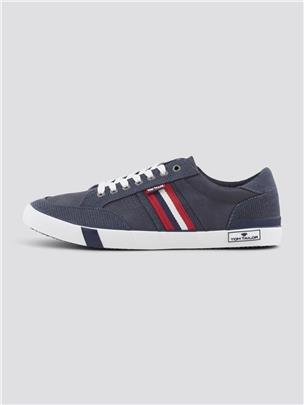 TOM TAILOR Sneakers in een getextureerde mix, navy
