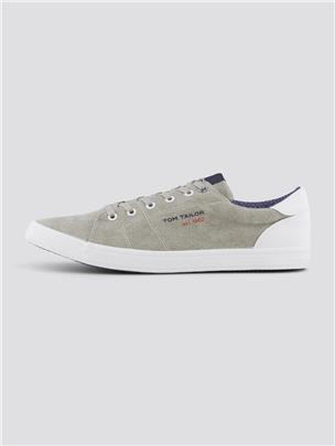 TOM TAILOR Gevlekte sneakers, stone-grey