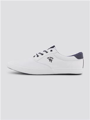 TOM TAILOR Sneaker met logo badge, white