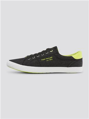 TOM TAILOR Sneakers met kleurdetails, white
