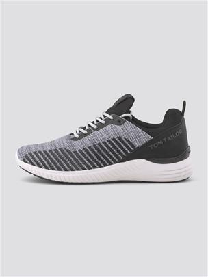 TOM TAILOR Sneakers met dikke zool, grey