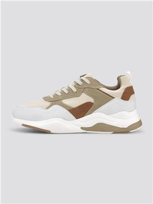 TOM TAILOR Casual sneakers, offwhite