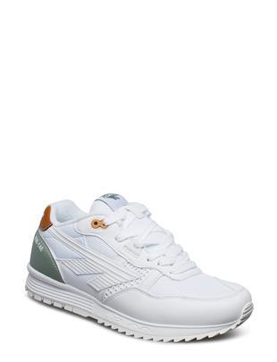 Ht Badwater 146 White/Sage Green/Gum Lage Sneakers Wit HI-TEC