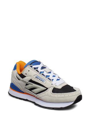 Ht Silver Shadow Grey/Black/Blue/Orange Lage Sneakers Blauw HI-TEC