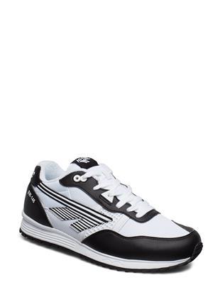 Ht Badwater 146 Black/White Lage Sneakers Zwart HI-TEC