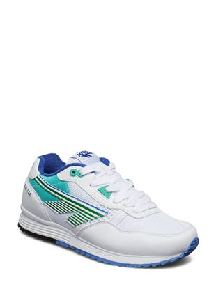 Ht Badwater 146 White/Evergreen/Purple Lage Sneakers Wit HI-TEC