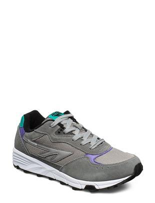 Ht Shadow Tl Frost Grey/Teal/Purple Lage Sneakers Grijs HI-TEC