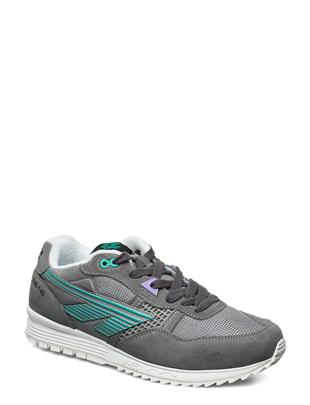 Ht Bw 146 Frost Grey/Teal/Purple Lage Sneakers Grijs HI-TEC