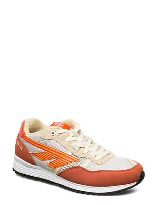 Ht Bw 146 Ochre/Birch/Mandarin Red/Flame Orange Lage Sneakers Multi/patroon HI-TEC