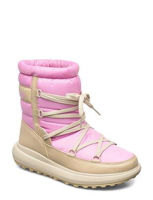 W Isolabella Court Heritage Shoes Boots Ankle Boots Ankle Boot - Flat Roze HELLY HANSEN