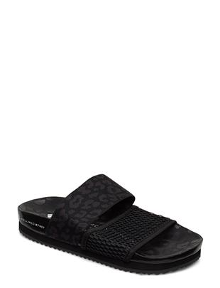 Stella-Lette Shoes Summer Shoes Flat Sandals Zwart ADIDAS BY STELLA MCCARTNEY