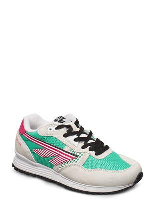 Ht Bw 146 Cotton/Evergreen/Pink Lage Sneakers Multi/patroon HI-TEC