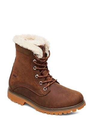 W Marion Shoes Boots Ankle Boots Ankle Boot - Flat Bruin HELLY HANSEN