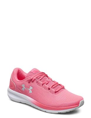 Ua W Charged Pursuit 2 Shoes Sport Shoes Running Shoes Roze UNDER ARMOUR
